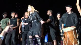 Madonna - HOLIDAY -MDNA Cordoba - when electricity went off -  22.12.12
