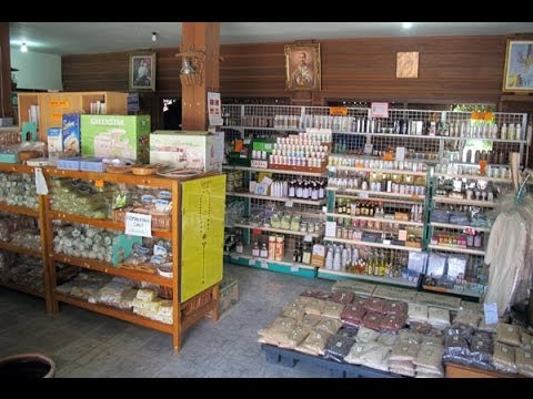 Organic health food store in Chiang Mai