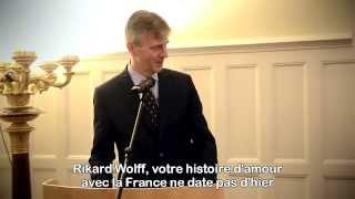 Rikard Wolff utnämns till riddare av Hederslegionen