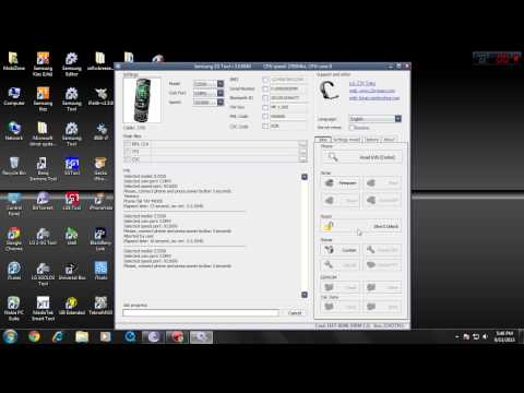 unlock samsung e2550 with usb