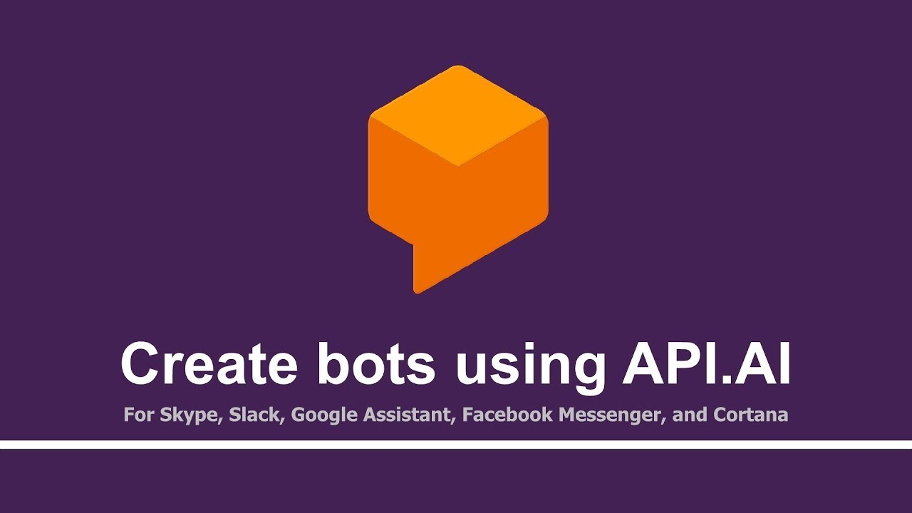 Create Chatbots using API AI and deploy on Google Cloud | Promo Video |  Tutorials Team
