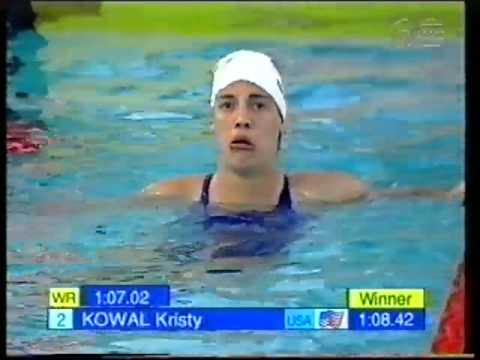 1998 | Helen Denman | Silver | 1998 World Champs | Womens 100m Breastroke | Kowal Gold