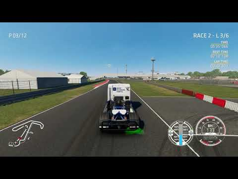 FIA Truck Racing Championship The Game (pc) First Race  