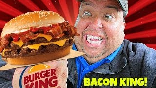 Gambar cover Burger King® BACON KING SANDWICH REVIEW!