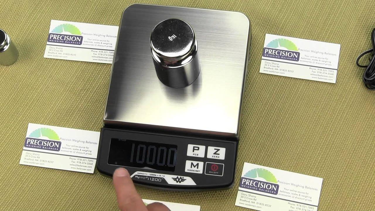 My Weigh i-1200 digital scale Balance - Precision Weighing