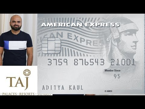 How To Use Taj Hotel Voucher Amex Platinum Travel Credit Card ( HIndi)