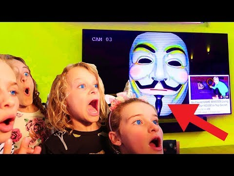 THE GAME MASTER HACKED OUR TV! PROOF HE WANTED TO COME TO AUSTRALIA | Norris Nuts Game Master Series