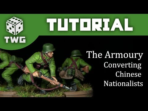 The Armoury: Converting Bolt Action Nationalist Chinese Infantry
