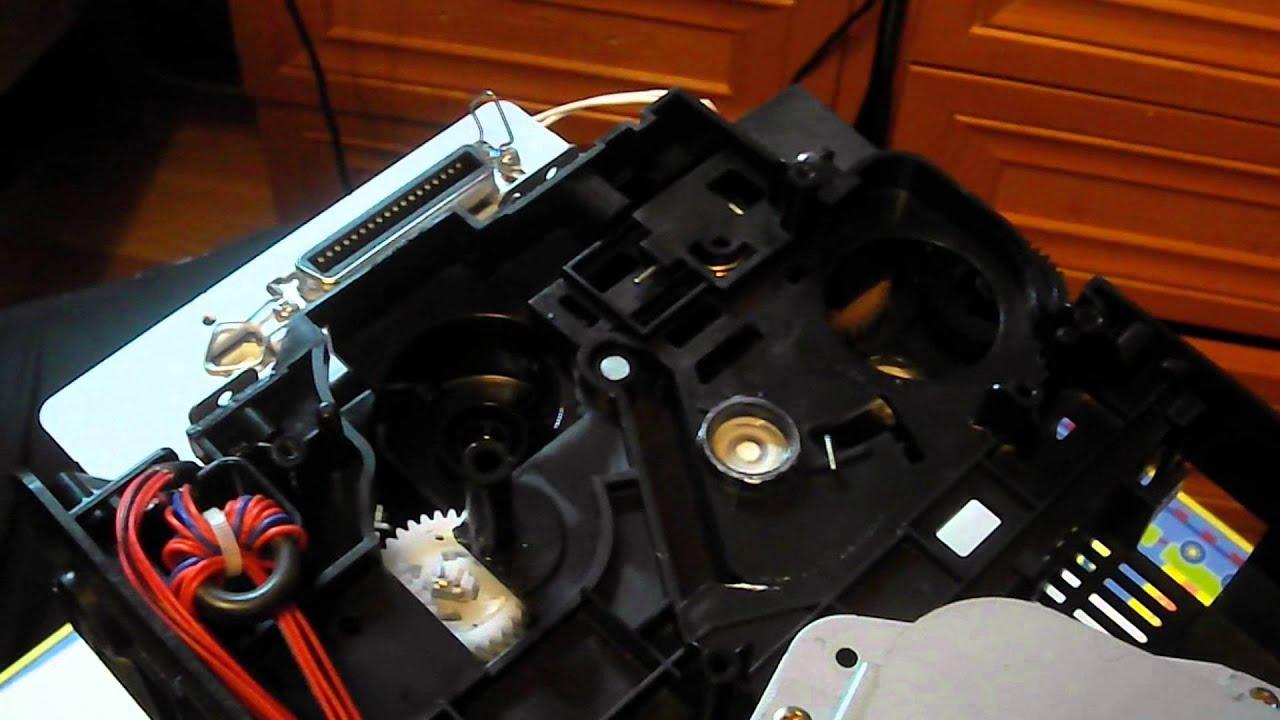 инструкция по разборке принтера hp 1200s