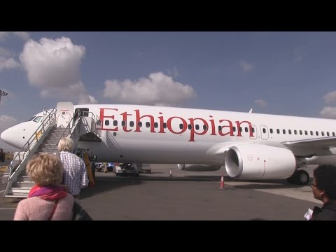 Ethiopian Airlines B737 Takeoff Addis Ababa Bole Airport