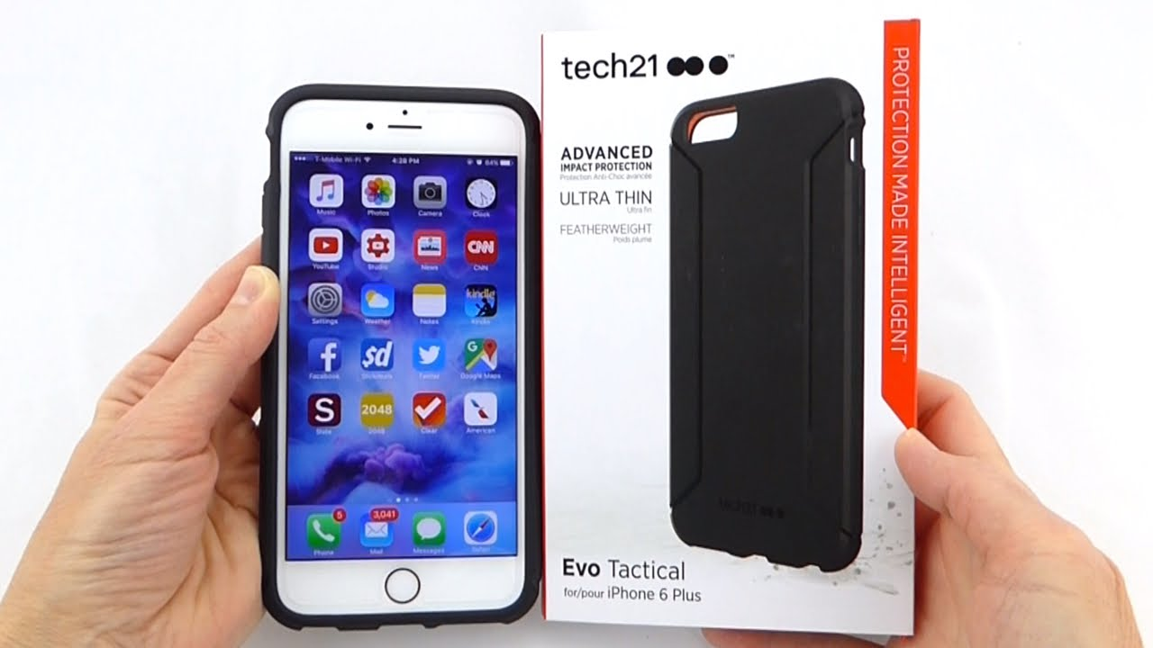 huge discount 115e4 119dc Slim, Grippy and Protective: Tech21 Evo Tactical for iPhone 6s Plus!