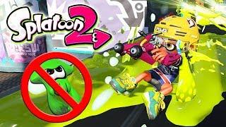 RETO SPLATOON 2: ¡PROHIBIDO TRANSFORMARSE EN CALAMAR! | Nintendo Switch