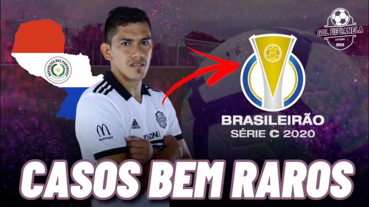 Conheça os gringos que jogam a Série C do Brasileirão 2020 | GOL DE CANELA