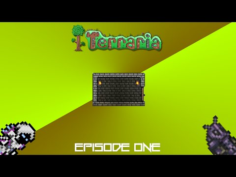 Let's Play: Terraria   The Quest For Grey Brick!   Episode One