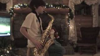 Kenny G -The Moment (Alto Sax) 11 yr old