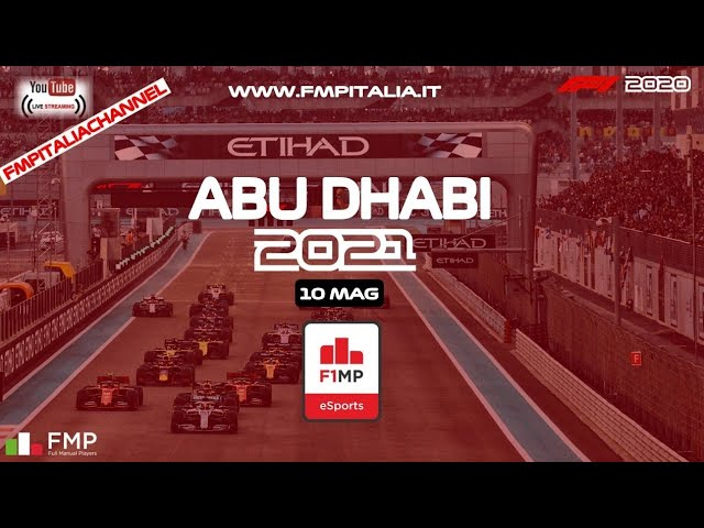 F1MP   #22 ABU DHABI   FMP ITALIA