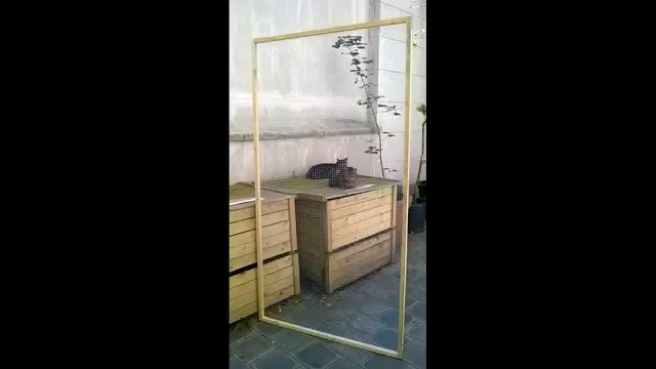 Grille de protection pour chat et chien fabriqu par 4p for Protection fenetre pour chat
