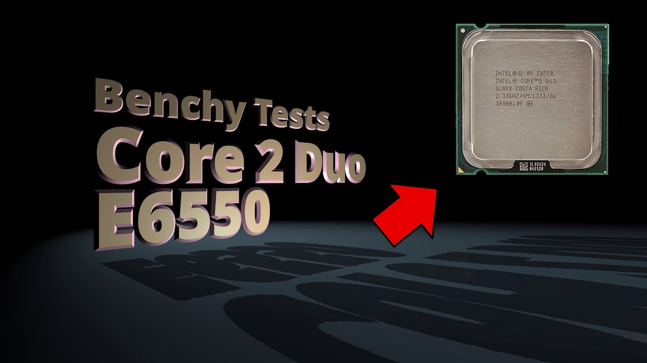 Intel core 2 duo e6550 review and overclocking.