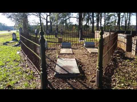 Old Cematary in Cairo Ga 1850