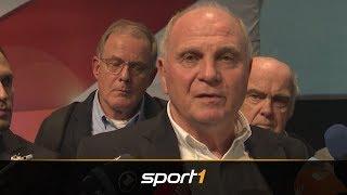 Nach Kovac-Aus! Hoeneß kündigt Trainerlösung an | SPORT1