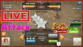 Clash of Clans⭐LIVE ATTACK& REPLAY⭐3-STAR TH11 ATTACK LOW HERO STRATEGY⭐AWESOME !?!