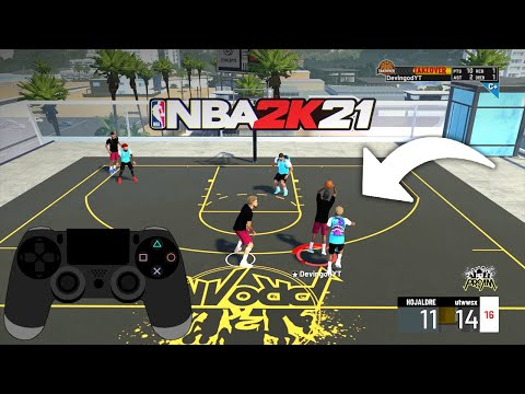 How To Crab Dribble Tutorial NBA 2K21 | How To Crab Your Defender Every Play
