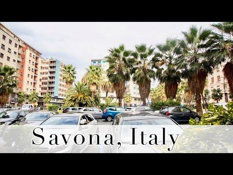 Går På Båten + Första Stoppet / Savona, Italy