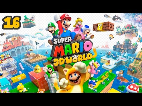 Super Mario 3D World - All Power-Ups