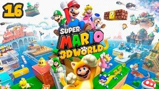 Super Mario 3D World - Прохождение pt16 - Босс (Мир-Замок)(Кооперативное прохождение игры