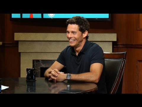 James Marsden's favorite kisser | Larry King Now | Ora.TV