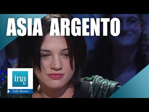 Interview Psy d'Asia Argento - Archive INA