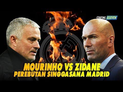 Mengapa Real Madrid Lebih Memilih Zidane & Mencampakan Mourinho? Buat Latih Madrid Lagi
