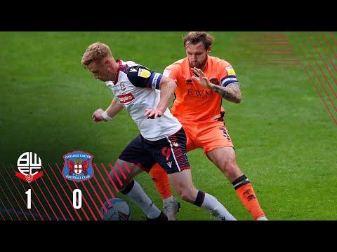 Bolton Carlisle Goals And Highlights