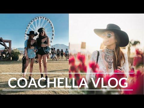 COACHELLA 2017 VLOG & OUTFITS - Retro Flame Vlogs