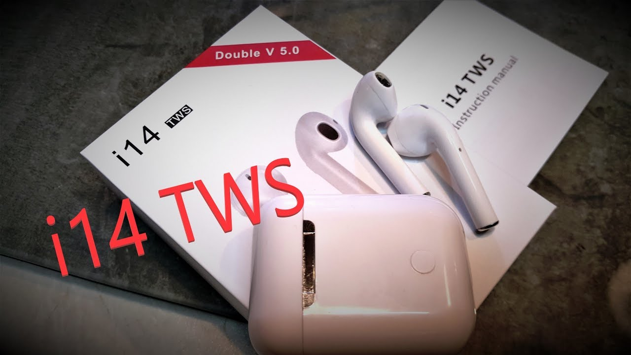 7d41cf94a7a i14 TWS Touch Wireless Earphone - Bluetooth v5.0 της Bilikay από Gearbest.  (in GREEK)