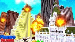Minecraft: MENINO ARANHA - BOMBAS PELA CIDADE! #278