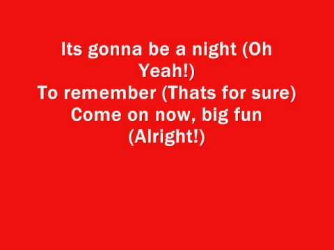 High school musical 3  A night to remember lyrics