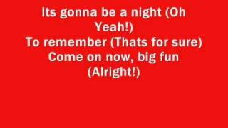 High school musical 3 - A night to remember lyrics