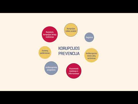 Antikorupcinis švietimas – ūkio subjektų priežiūra ir kontrolė (STT)
