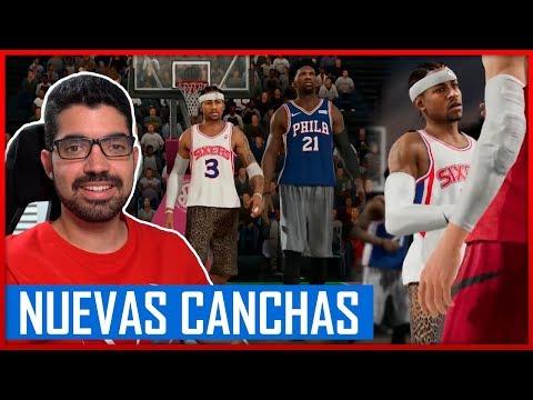 NBA LIVE 19 - ¡NUEVAS CANCHAS + ANIMACIONES! - REACCIÓN
