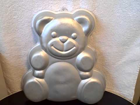 Wilton Teddy Bear Cake Party Pan Baby Shower Birthday Year