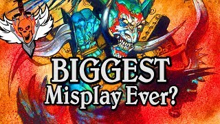 Biggest Misplay Ever?  🍀🎲 ~ Journey to Un'Goro ~ Hearthstone Heroes of Warcraft