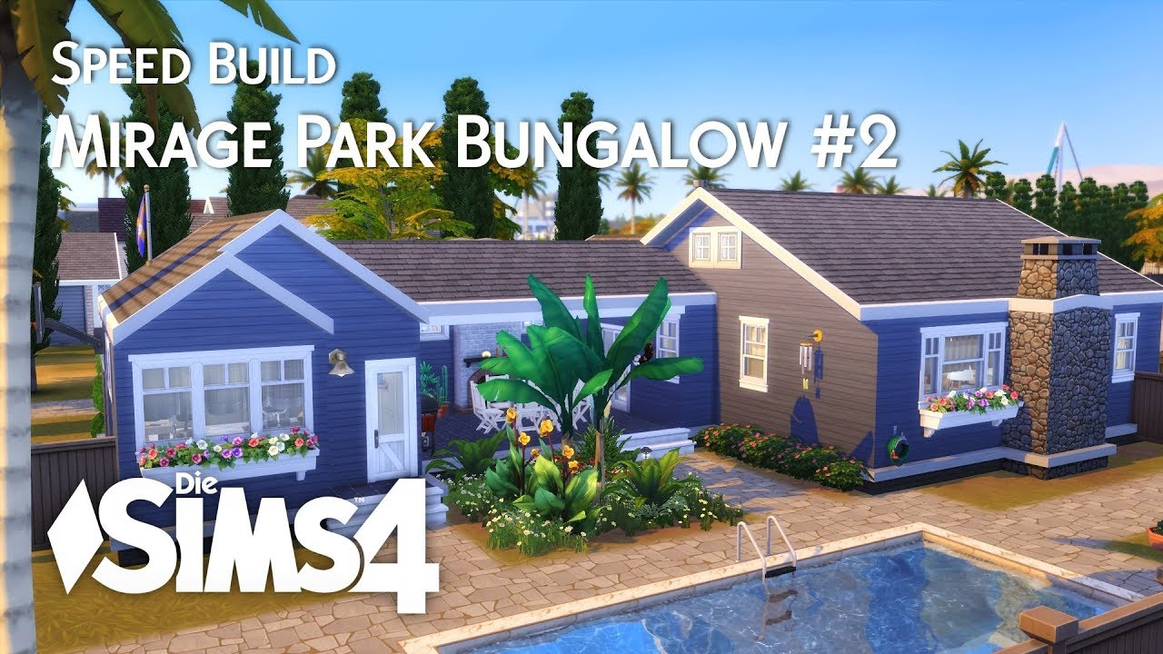 Sims 4 Offene Küche Die Sims 4 Speed Build Mirage Park Bungalow 2