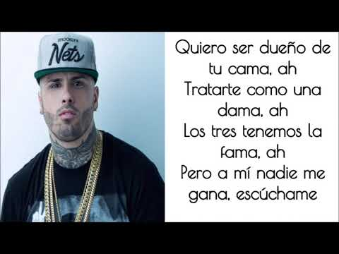 Romeo Santos Ft. Daddy Yankee, Nicky Jam  -  Bella y Sensual (LYRICS)