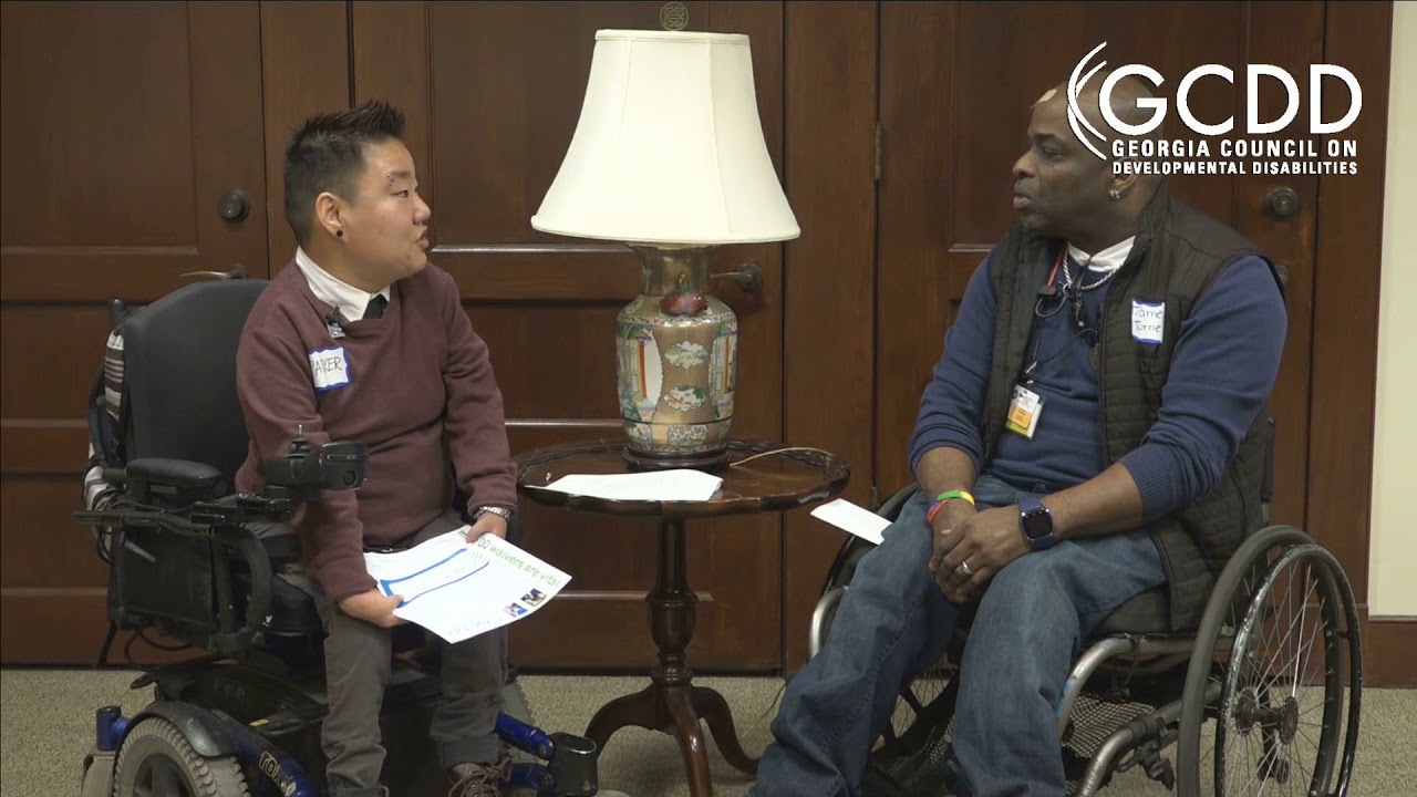 GCDD Advocacy Day Interview with James Turner of disABILITY Link