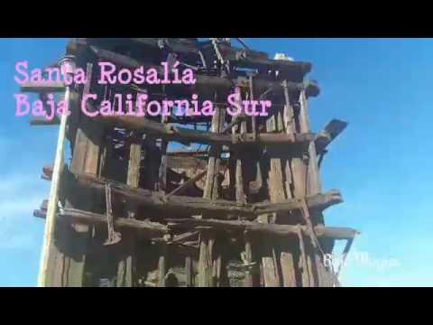 Esto es Santa Rosalía en Baja California Sur.