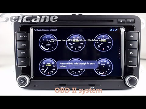 OEM 2008-2013 VW Scirocco SAGITR Caddy Sagita navigation system aftermarket sat nav head unit