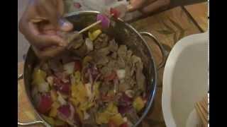 Meat soya (Cameroon Style)