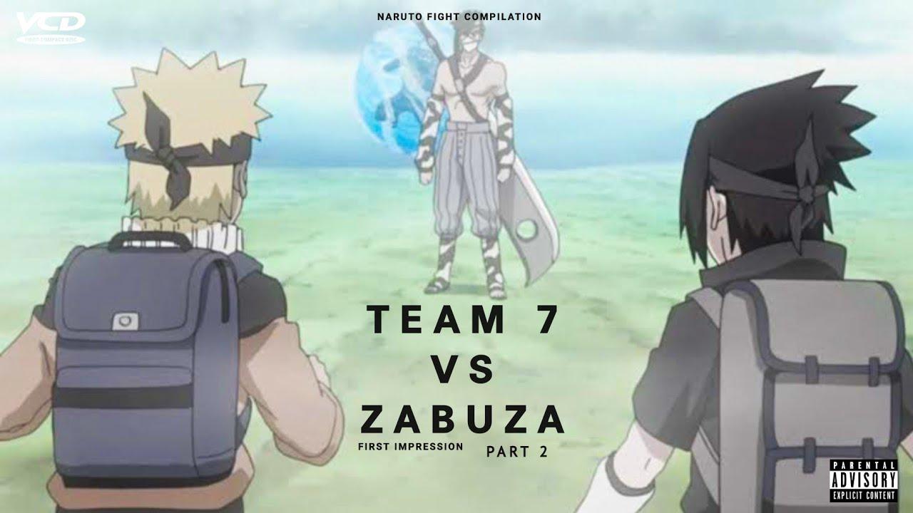 Team 7 vs Zabuza - First Impression Part 2
