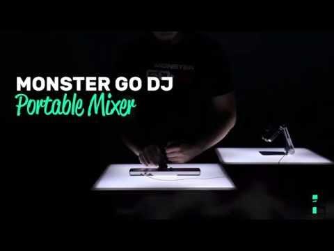 Monster Go DJ Portable Mixer - Birthday gift idea for boyfriend